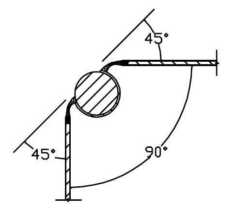 ReusePac rod and C shaped groove interlock