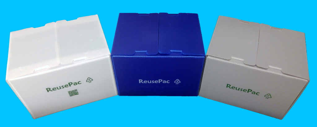 Reusable boxes in colors