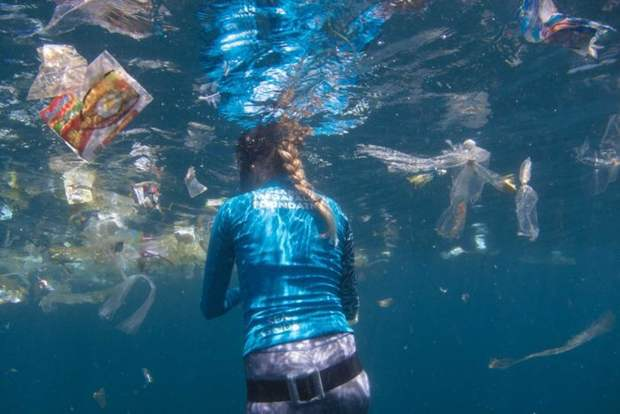 Ban all plastics for the ocean is not practical