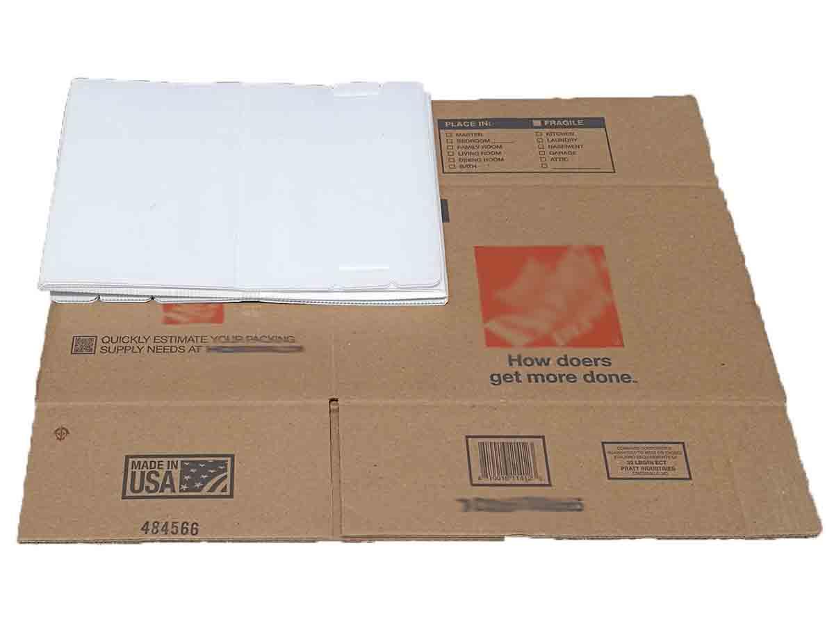 ReusePac reusable box collapse folding compact size